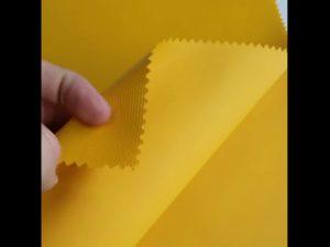 Tela 100% de la mochila de la laminación del PVC de Oxford del material del poliéster