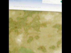 Tela revestida PU del camuflaje del camuflaje de nylon de Oxford 1000D
