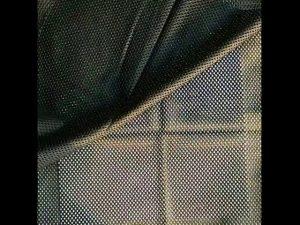 Tela de malla de punto de urdimbre de poliéster 160gsm para chaleco militar