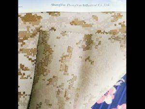 El camuflaje impermeable 930D imprimió la tela revestida de nylon de Oxford de la PU