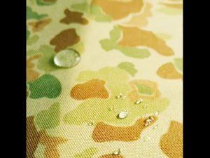 Tela de nylon impresa cordura del denier de la fábrica de China 1000 con el repelente de agua