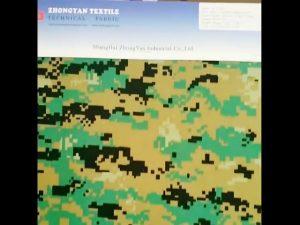 El camuflaje del bosque digital imprimió la tela oxford impermeable similar de nylon del cordón 1000d