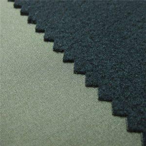 Tela de softshell de membrana transpirable de 3 capas TPU con forro polar