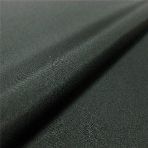 alta calidad tela de sarga 1/6 de tela de poliéster 100% para chaqueta / abrigo / ropa