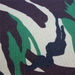 telas de Oxford: poliéster 600d, 300 gsm, impresión de camuflaje liso