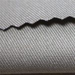 Ropa de trabajo ignífuga del algodón 350gsm tela EN11612 del material de ropa del trabajo de la tela para la bata