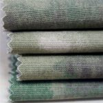 ropa militar antiestática del ejército de la tela de algodón del ripstop de la impresión