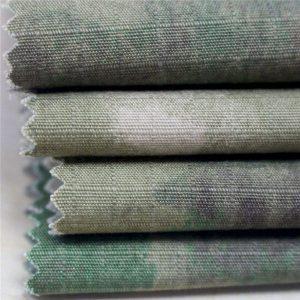 Tela de algodón antiestática de Ripstop de la impresión para la ropa del ejército