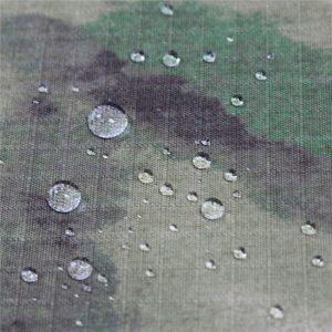 Tela impresa camuflaje de la tela del taslan de nylon 228t / taslon impermeable al aire libre de la tela de nylon
