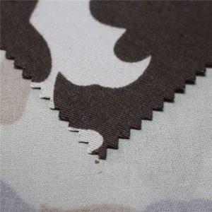 Tela de sarga ignífuga 80% algodón 20% poliéster