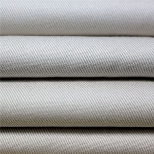 tela de gabardina tela de algodón 100% lona para uniforme escolar