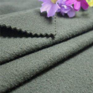 Con Oeko-Tex 100 Estándar poliéster exterior chaqueta Polar paño grueso y suave de la tela