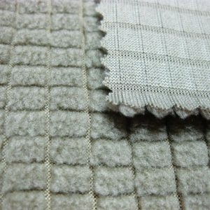 Tejido de lana de poliéster / tela transpirable súper poliéster durable para trajes de oruga