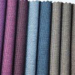 tela al por mayor de Oxford del color de dos tonos del poliéster para el material del bolso