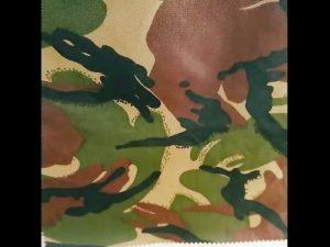 camuflaje impreso impermeable ripstop nylon oxford uniforme militar tela