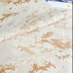 buena calidad patrón de camuflaje 100% tela de nylon uso militar de seguridad